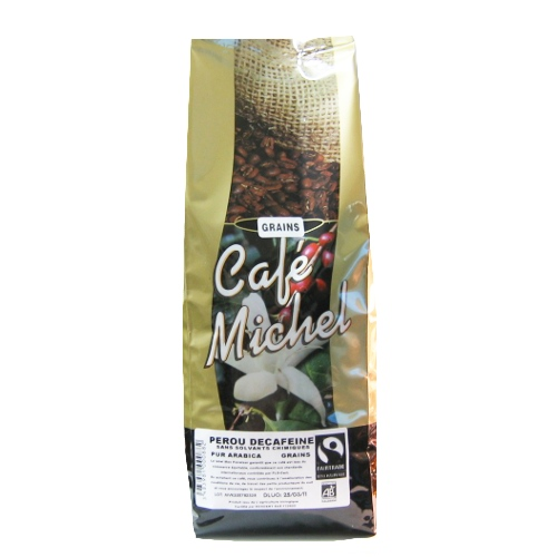 Caf� d�caf�in� Ethiopie grains bio 1kg