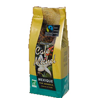 Caf� du Mexique bio en grains 1kg