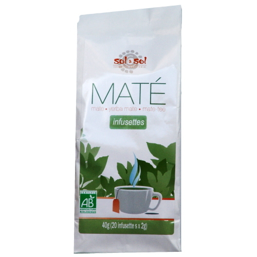 Mat� Argentine bio Infusettes 30g