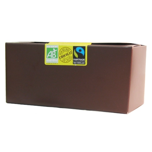 Assortiment de chocolats bios �quitables