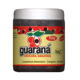 Graines de Guarana Bio 100g