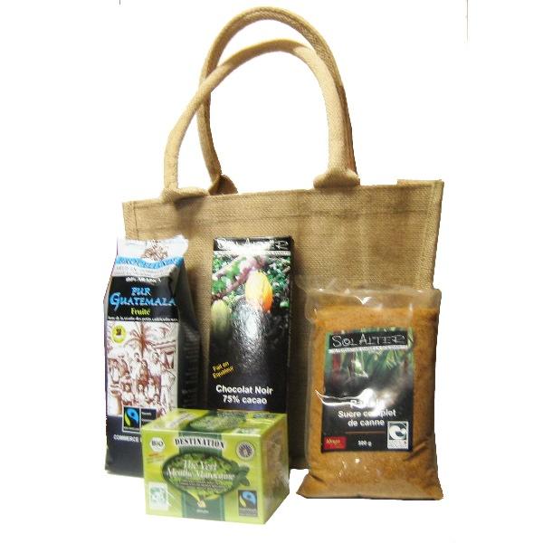 Panier Cadeau Café : Coffret cadeau caf? ?quitable l epicerie equitable
