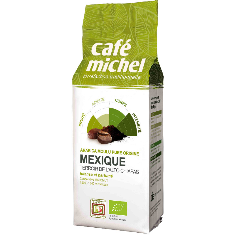Café Chantico Mexique Bio 250g