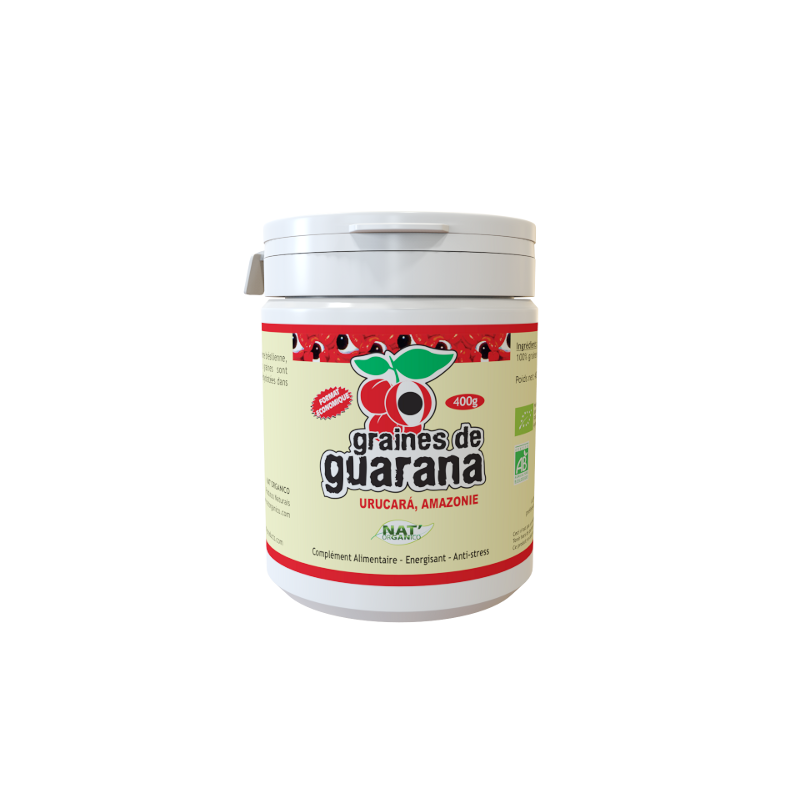Graines de Guarana Bio 400g